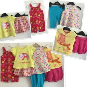 74b14bb8b Next H M Baby Girls Summer Brights Bundle 3-6 Months Outfits
