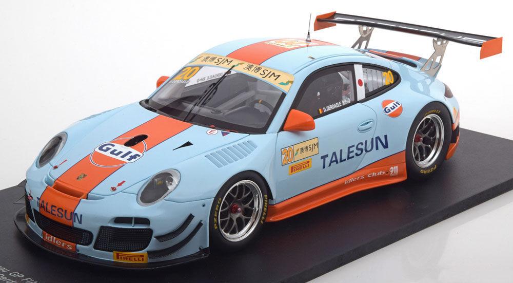 Spark 2015 Porsche 911 (997II) GT3-R FIA GT Grand Prix Macau derdaele  18New artículo