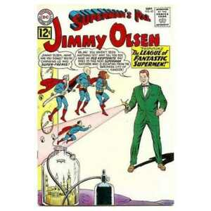 Superman-039-s-Pal-Jimmy-Olsen-1954-series-63-in-VG-condition-DC-comics-ya