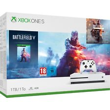 Xbox One S 1TB Battlefield V Deluxe Edition Console Bundle