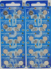 20 pc 371 Renata Watch Batteries SR920SW FREE SHIP  0% MERCURY