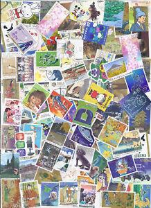 Le-Japon-collection-Packet-100-utilise-timbres-speciaux-avec-beaucoup-de-recents