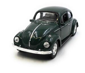 Maquette-de-Voiture-VW-Coccinelle-Beetle-Emballage-D-039-Origine-Vert-Auto-1-3-4-39