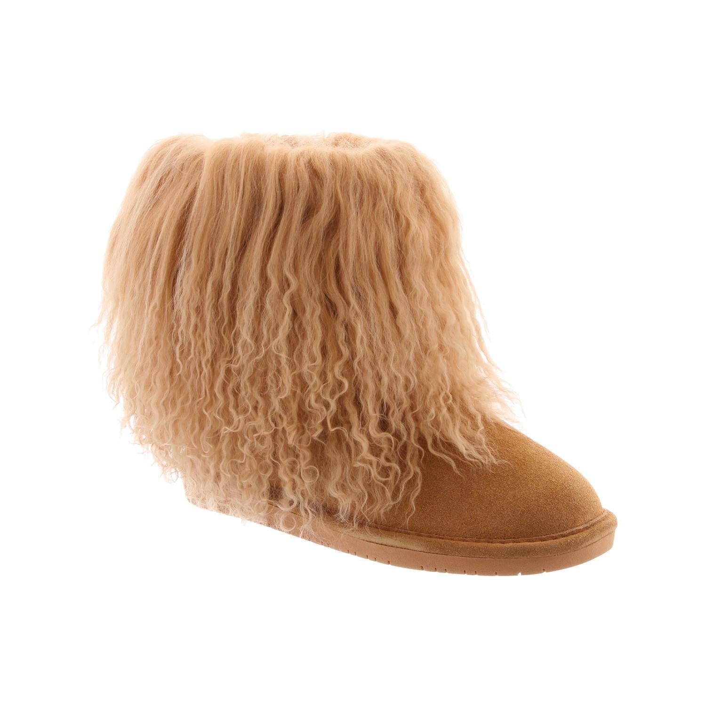 Bearpaw Boo-para mujer 7 pulgadas Furry bota - 1854w 1854w 1854w Trigo - 7 a5635c
