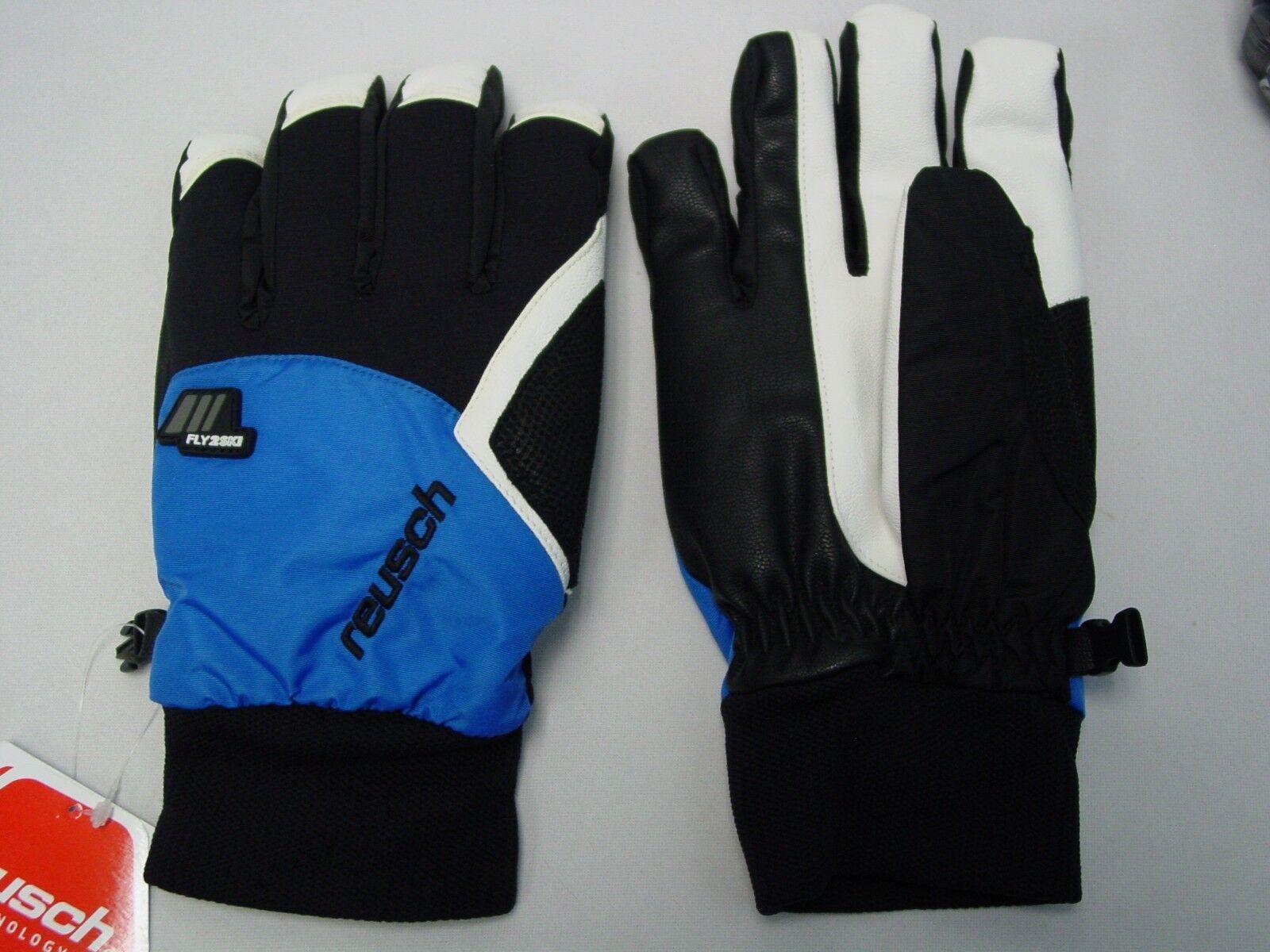 Neu Reusch Snowboard Rtexxt Leder Palmen Handschuhe Medium (8.5) Engadin 4202207