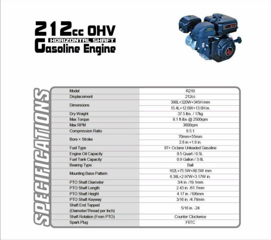 Predator 212cc Engine Oil Capacity | Tyres2c
