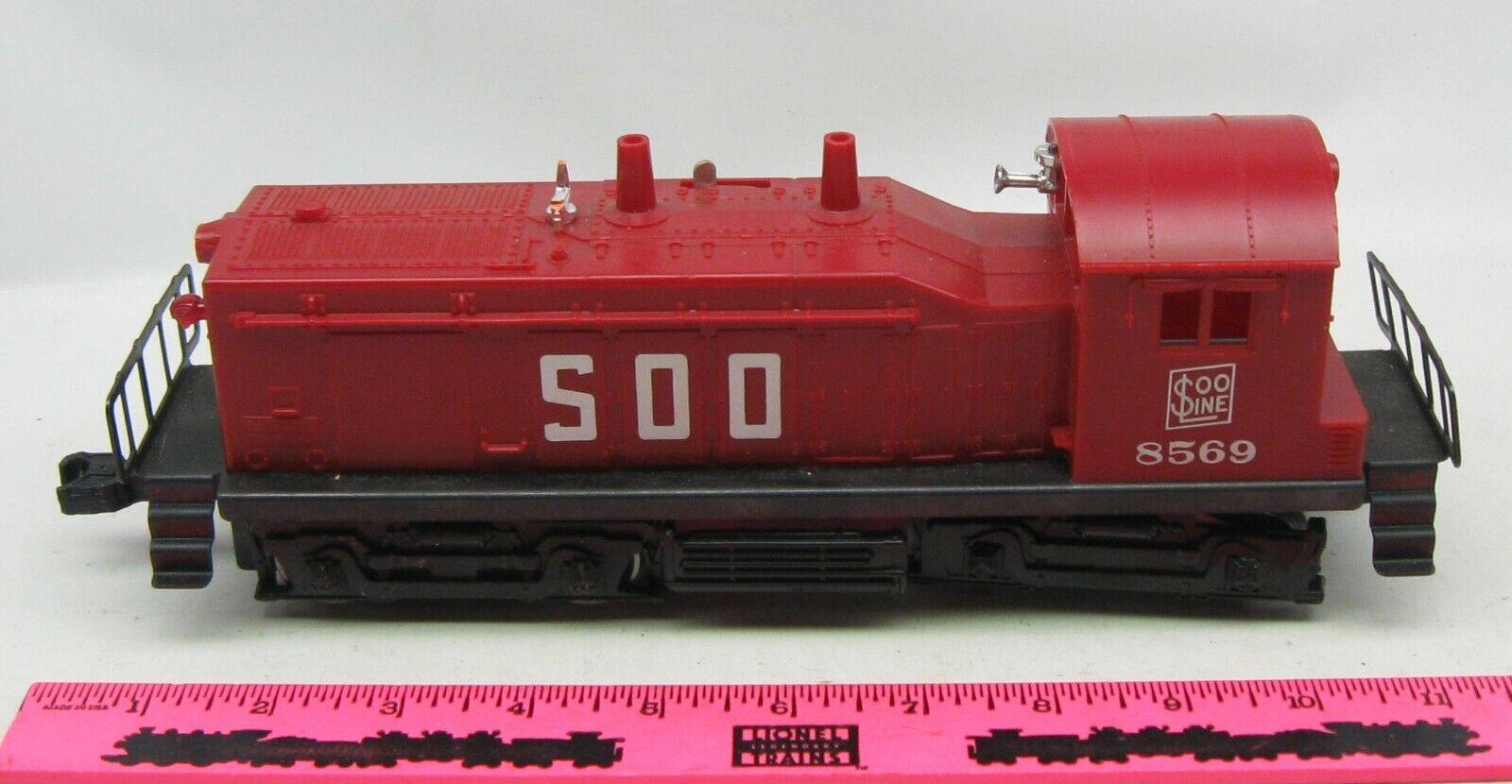 Lionel  8569 SOO Line NW2 Switcher Diesel Engine
