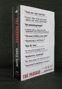 THE PASSAGE Justin Cronin US FIRST STATE UNCORRECTED PROOF / ARC