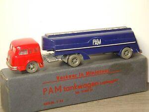 Henschel-HS-170T-PAM-Tankwagen-21000-ltr-Siku-V58-Germany-in-Box-30816