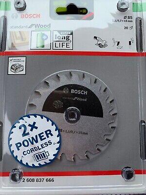 Bosch Standard for Wood 85mm  20T Blade GKS 10.8 V-Li 2608643071