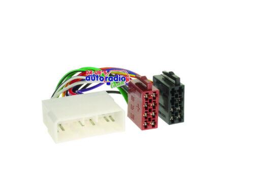 = radio cable SsangYong Rodius kyron adaptador cable 1086-02