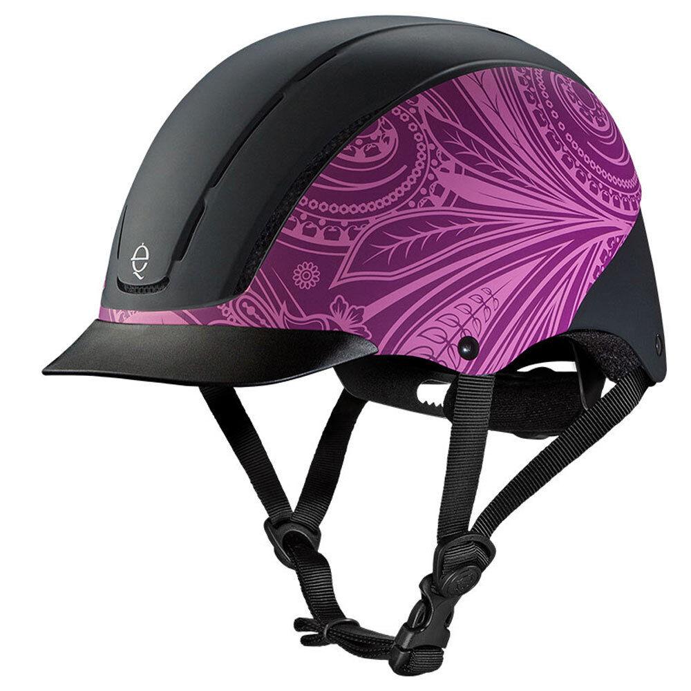 04540 Troxel Spirit Riding Helmet  viola Boho NEW