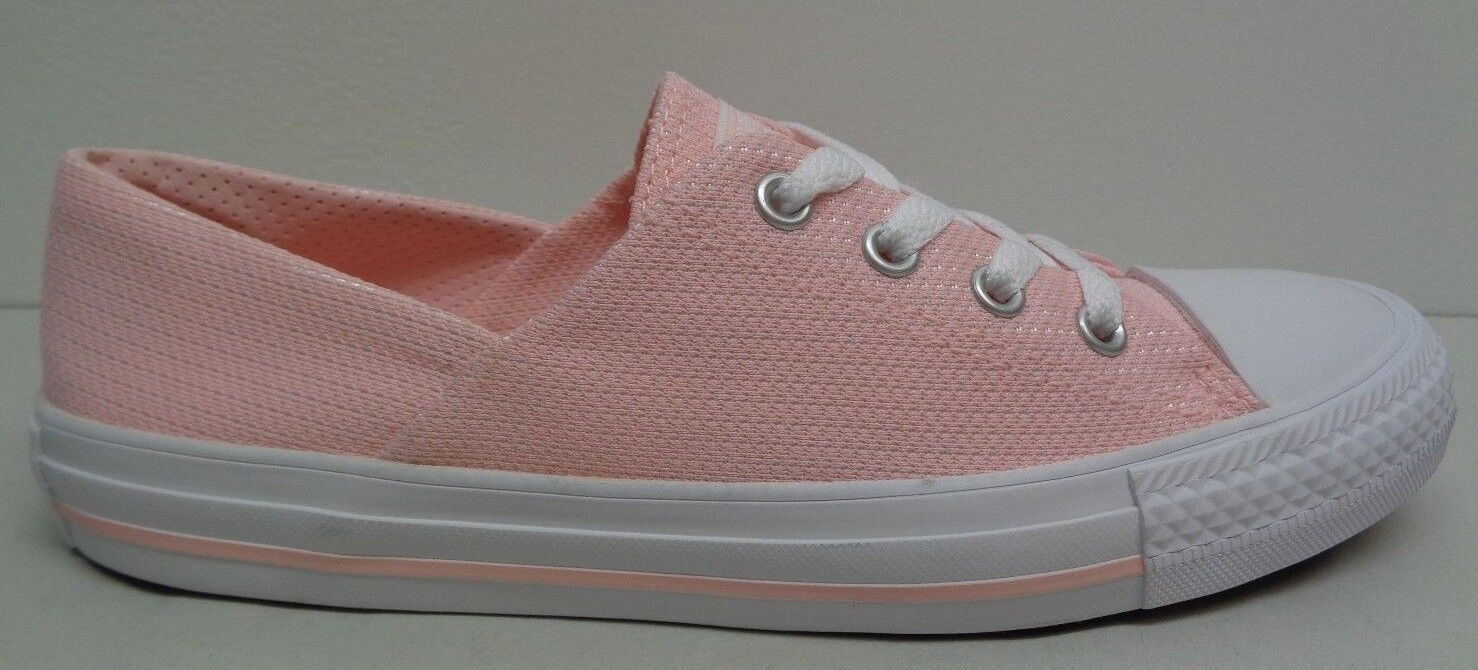 Converse All Star Größe 7 CORAL OX Vapor Pink Fashion Sneakers NEU Damenschuhe Schuhes