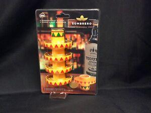 New - Bandolero Sombrero Slammers Set of 4 NP31775 5037200031775  1149b98fb433