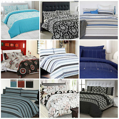 APARTMENTO Doona | Duvet | Quilt Cover Set Single Double Queen King Size Bed