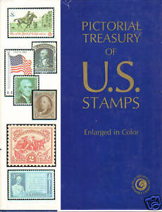 Pictorial-Treasury-of-US-Stamps-1-250-stamps-enlarged-with-much-detail