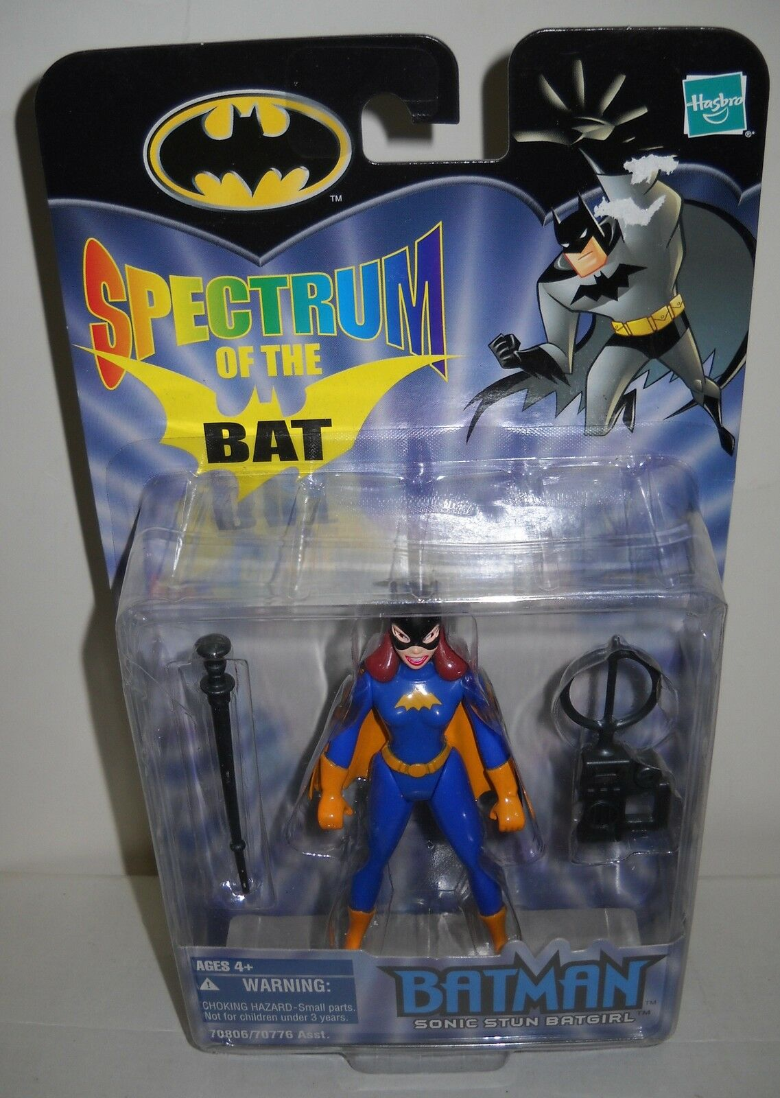 NRFC Hasbro Spectrum of the Bat - Batman Sonic Stun Batgirl Action Figure
