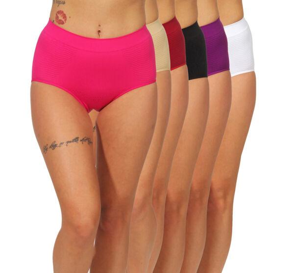 2er Pack Damen Slip Unterwäsche Formslip Bauchweg Mieder Miederslip Shapewear