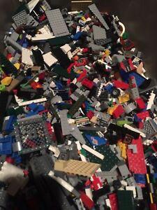 100-Genuine-LEGO-5-LB-pounds-Bulk-Lot-w-5-MINIFIGURES-Harry-Potter-Star-Wars