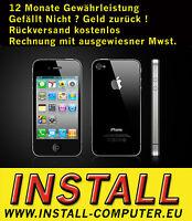 APPLE IPHONE 4 32GB SCHWARZ - OHNE SIMLOCK - OHNE VERTRAG - SMARTPHONE