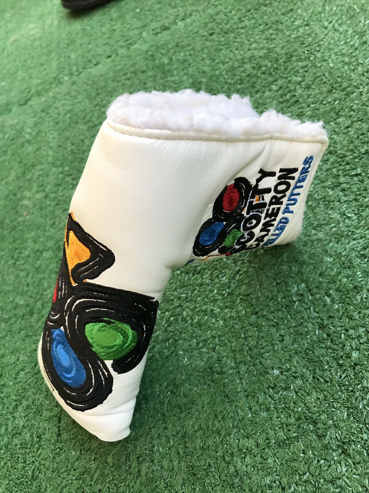 Club Cameron miembro 2010 Titleist Scotty Cameron am&e Hoja putter headcover