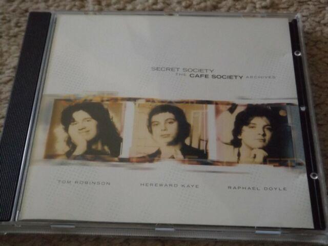 The Cafe Society - 'Secret society , the cafe society archives' cd (tom robinson