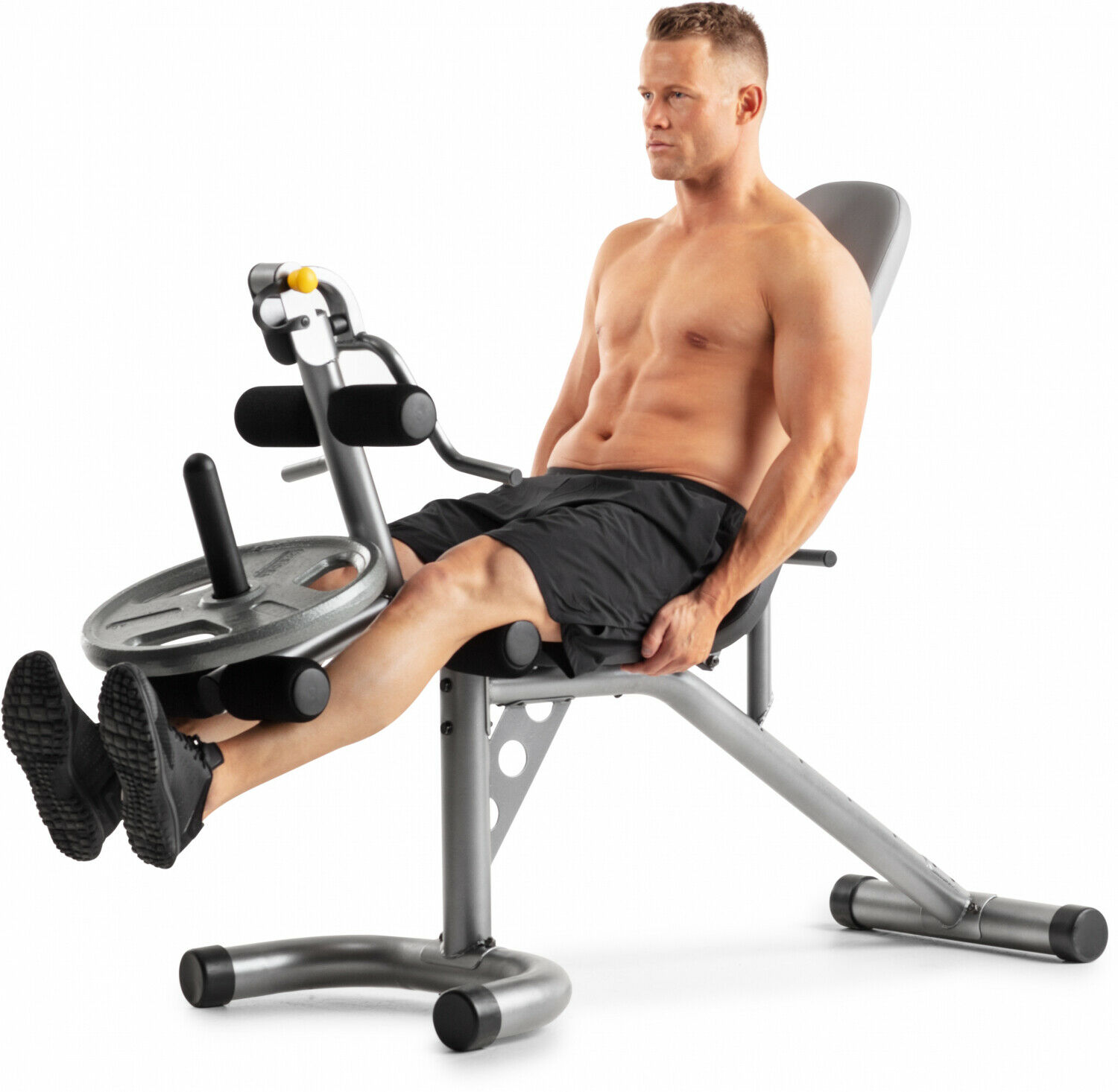 XRS 20 Olympic Workout Bench W  Removalle Preacher Pad Home Exercise Equipment