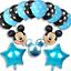 DISNEY-MICKEY-MINNIE-MOUSE-COMPLEANNO-PALLONCINI-BABY-SHOWER-SESSO-rivelare-Rosa-Blu miniatura 16