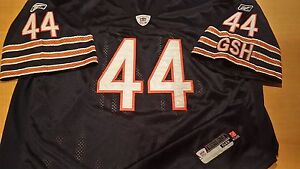newest d8588 8107a Details about OFFICIAL AUTHENTIC NFL CHICAGO BEARS #44 OBAMA REEBOK  FOOTBALL JERSEY SIZE 58