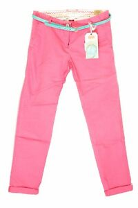 44c745c55bec2 Pantalon Chino rose corail SCOTCH   SODA R BELLE Junior Fille Taille ...