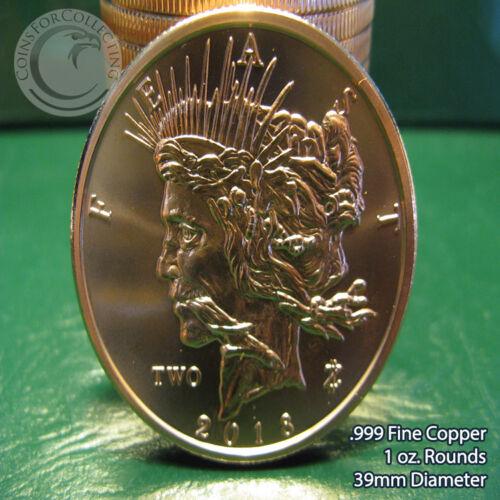 "20 /""Feast Dollar/""  Zombucks Series 2018 1 oz.999 Copper rounds Limited /& Rare"