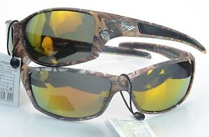 Polarized Camouflage Sport Sunglasses Hunting Fishing Outdoor VertX 56304 yellow