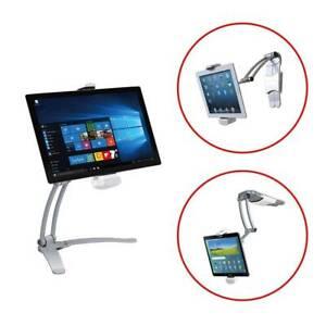 Details zu Höhenvertellbar Neigbar Tabletständer Küche Wandhalterung Tablet  Halterung