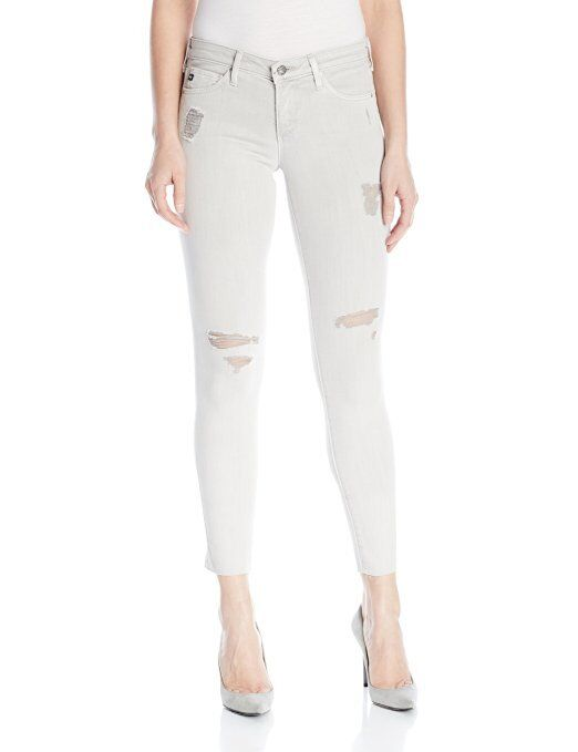 NEW AG Adriano goldschmied The Legging Sun Faded Ground Skinny Jean 24 X 29  198