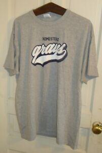 Men-039-s-XL-Homestead-Grays-Negro-League-Logo-T-Shirt-Pittsburgh-PA-Josh-Gibson