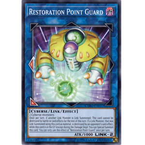 Common CYHO-EN037 x3 Restoration Point Guard Unlimited Edition