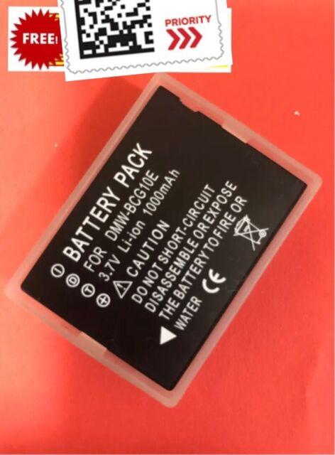 Battery DMW-BCG10E for Panasonic DMC-TZ20 TZ7 TZ18 TZ10 TZ8 ZS1 ZR1 Camera