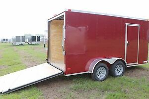 Image Is Loading 6x12 6 X 12 Enclosed Trailer Cargo Tandem