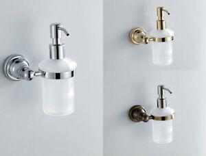 Bathroom Bath Hand Soap Dish Holder Solid Brass Basket Hanger Antique Wall Mount