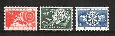 Briefmarken Sanft Belgien Michelnummer 1001-1003 Postfrisch europa:16211