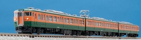 Tomix 98223 Japan  National Railways  series 115-300 Commuter train N scale