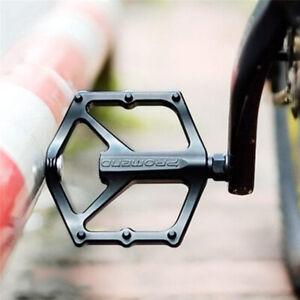 Road Mountain Bicycle Pedals 123mm Aluminum MTB BMX Cycling Bike Flat Platform