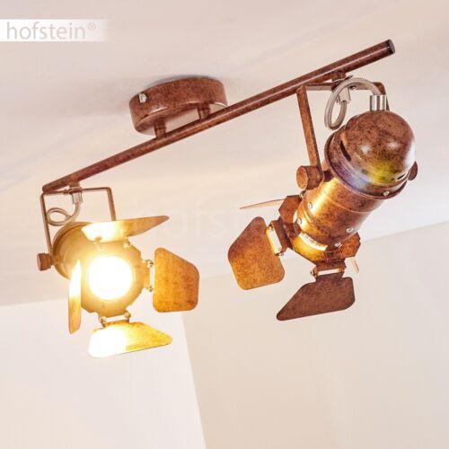 verstellbare Decken Leuchten Rost Flur Küchen Strahler Retro Wohn Schlaf Zimmer