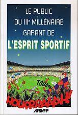 Le Public Du 3 ème Millénaire Garant De L'Esprit SPORTIF * AFSVFP * actes 1997