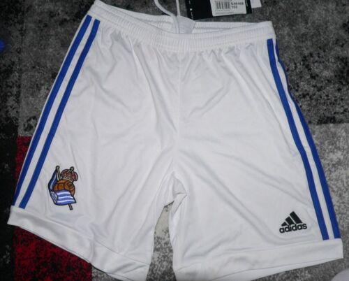 NEU Adidas Kinder Shorts kurze Hose REAL SOCIEDAD Home S46468 Spanien Gr 152 Bekleidung