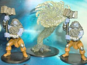 Dungeons & Dragons Miniatures Lot Storm Giant Thunderer Cyclone !! s116