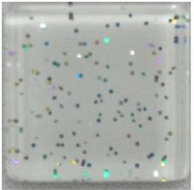 1 lb High Fired Ceramic Tiles Mixed Bag Mosaic Circle Tiles