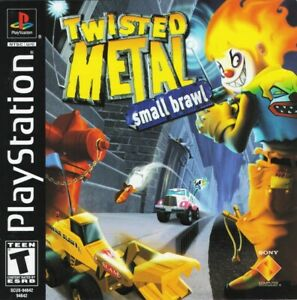 Twisted-Metal-Small-Brawl-PS1-Great-Condition-Fast-Shipping