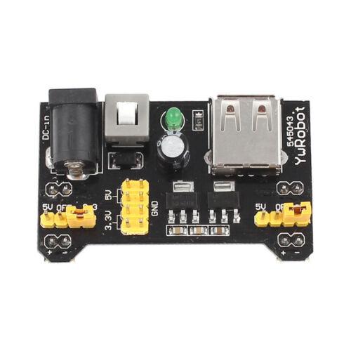 400//830 MB102 Point Breadboard 1660 Power Supply module W Jump Wire Arduino BBC
