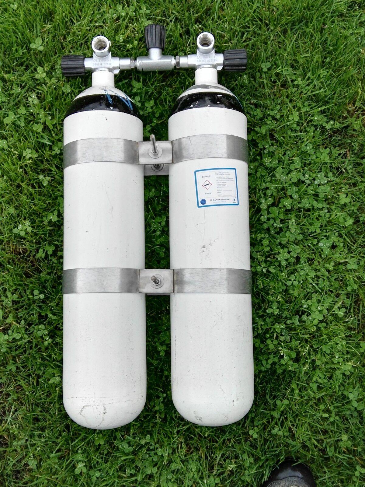 DIR Style Doppelpack 7 Liter 300bar TÜV neu gültig bis bis bis 7 2019 9aed72